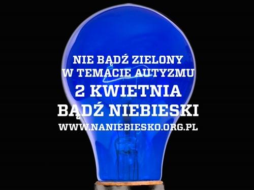 2 kwietnia -zapalamy się na niebiesko